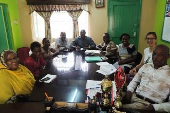 Kilifi Vocational Training Gespräch mit Verantwortlichen